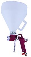 Распылитель пневматический для нанесения штукатурки пластиковый бачок AUARITA   FR-301