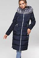 Пальто Пелагея - Т.синий АС11, фото 1