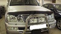 Дефлектор капота Lexus LX470 1998-2007 (Люкс вариант)