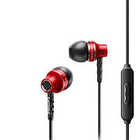 Наушники с микрофоном Philips SHE9100 Красные (34930)