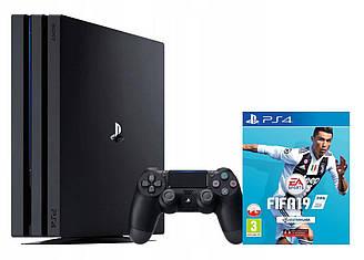 Консоль SONY PlayStation 4 Pro 1 ТB + игра FIFA 20