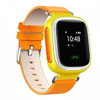Детские Смарт-часы Smart baby Watch Q60 ОРАНЖИВЫЕ