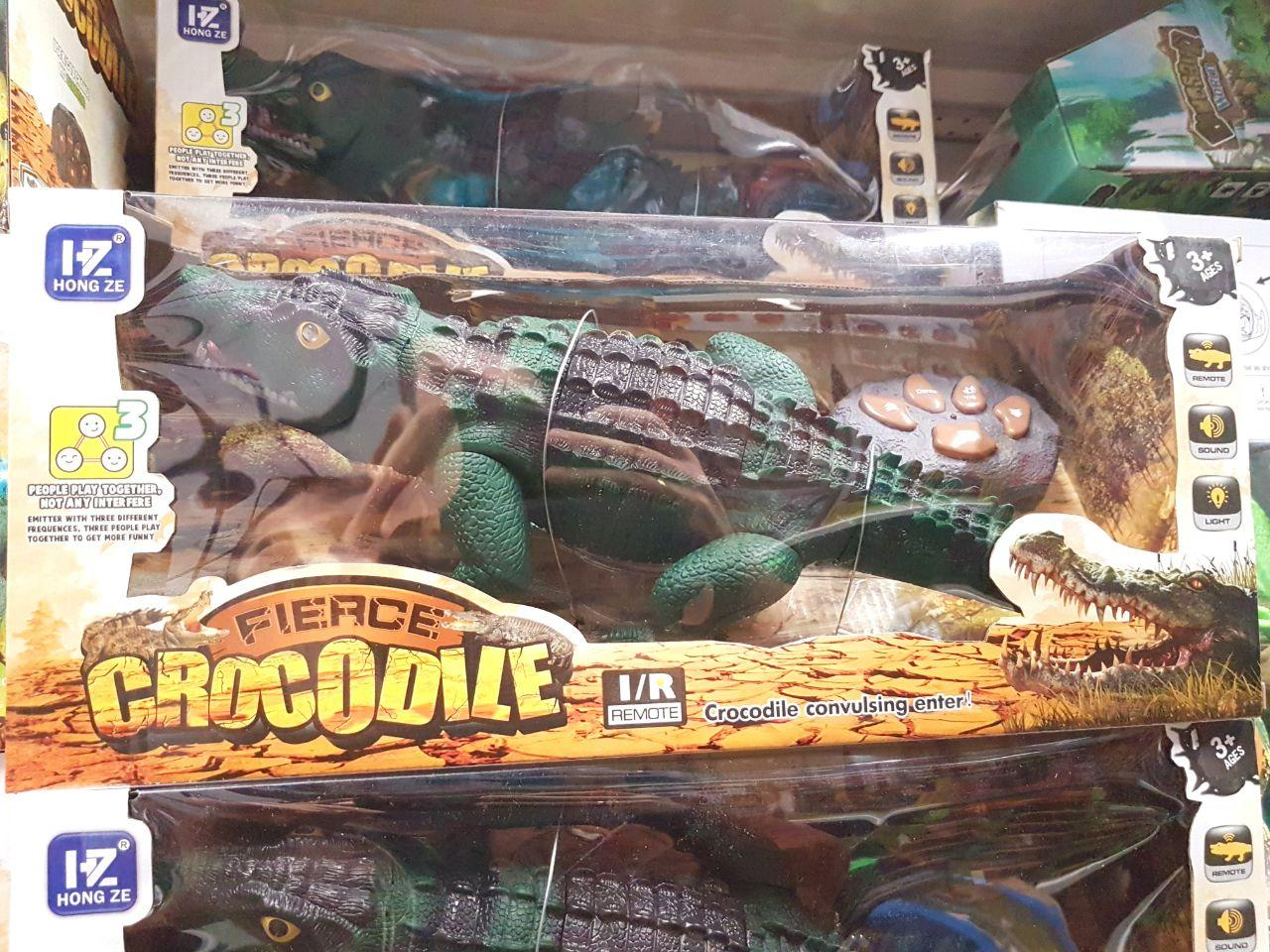 Крокодил на радіокеруванні, зі світловими і звуковими ефектами, F139