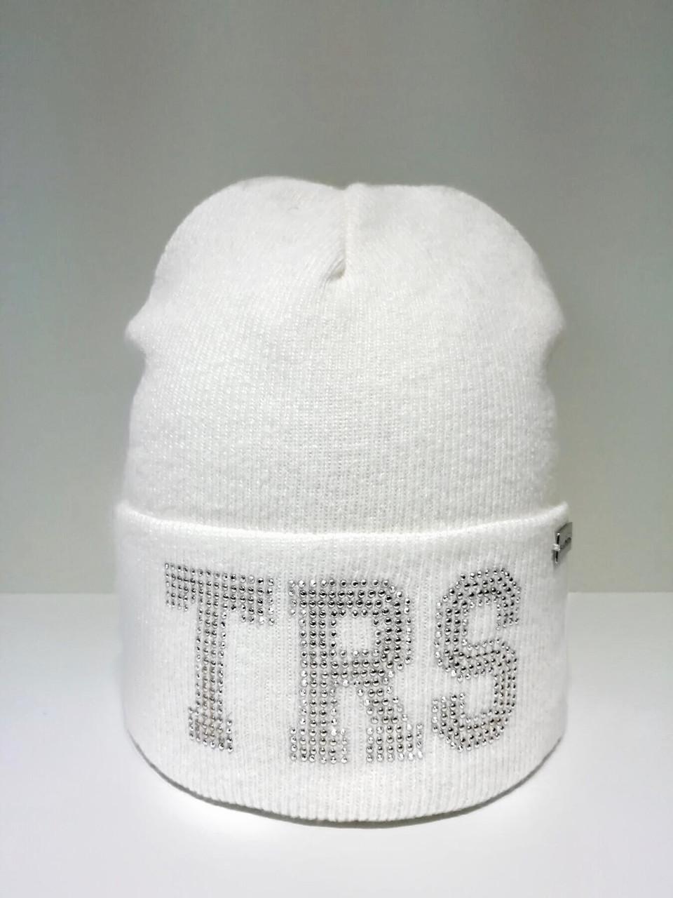 Детская шапка для девочки TRESTELLE Италия T19 515E Белый