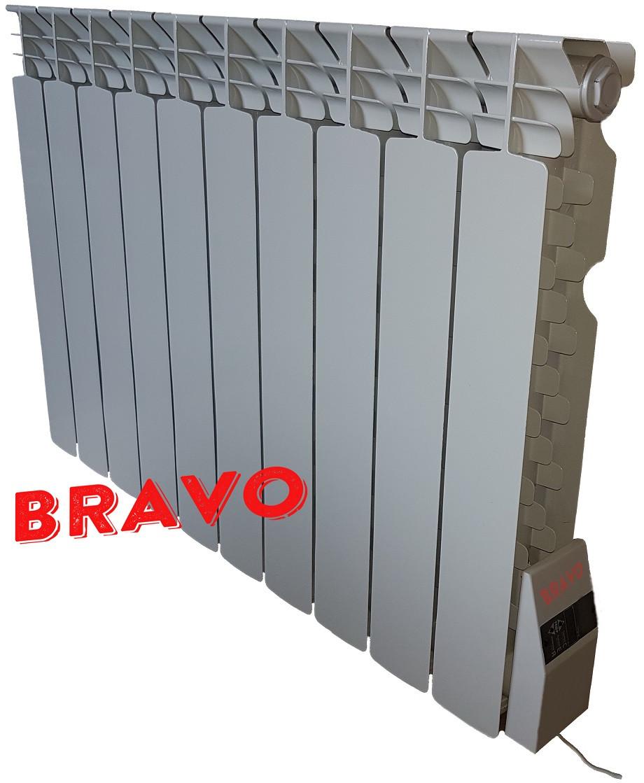 Электрорадиатор BRAVO 10 секций - отопление 20 кв.м