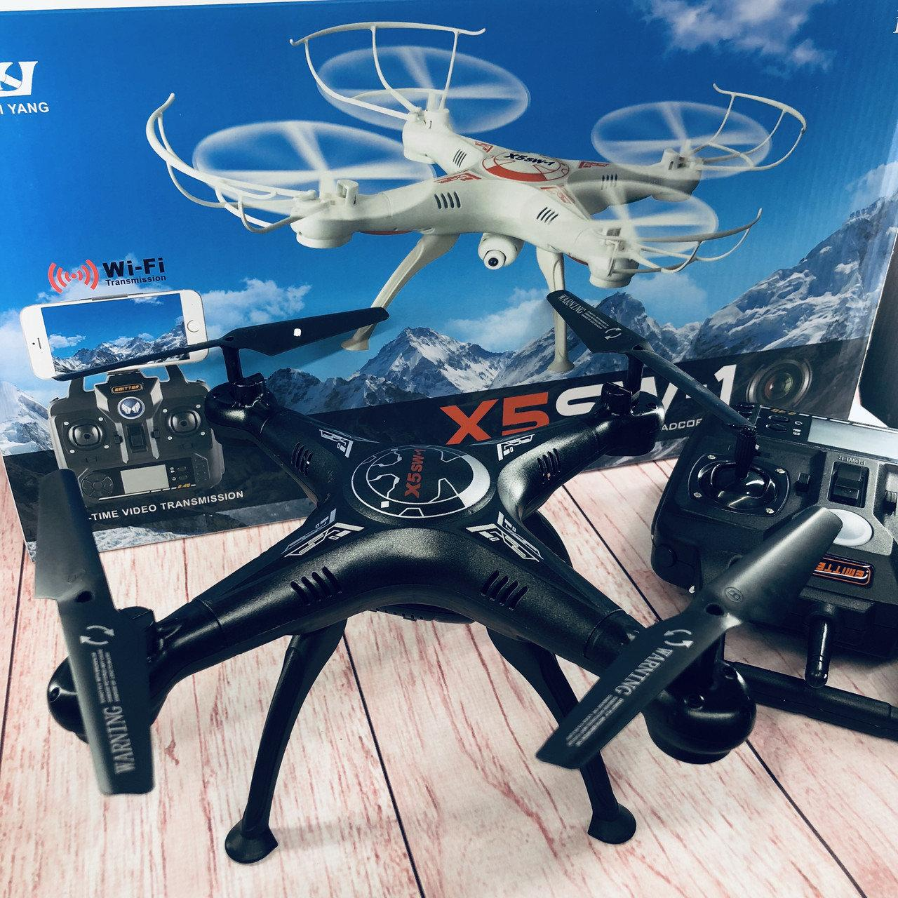 Квадрокоптер X5SW-1 2.4 GHz + Wi-Fi камера