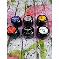 Гель-паста для дизайна ногтей №1 красная