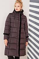 Пальто Анеля - Шоколад №499, фото 1