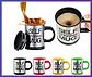 Кружка мешалка Self Stiring Mug 001 ЗЕЛЕНЫЙ, фото 2
