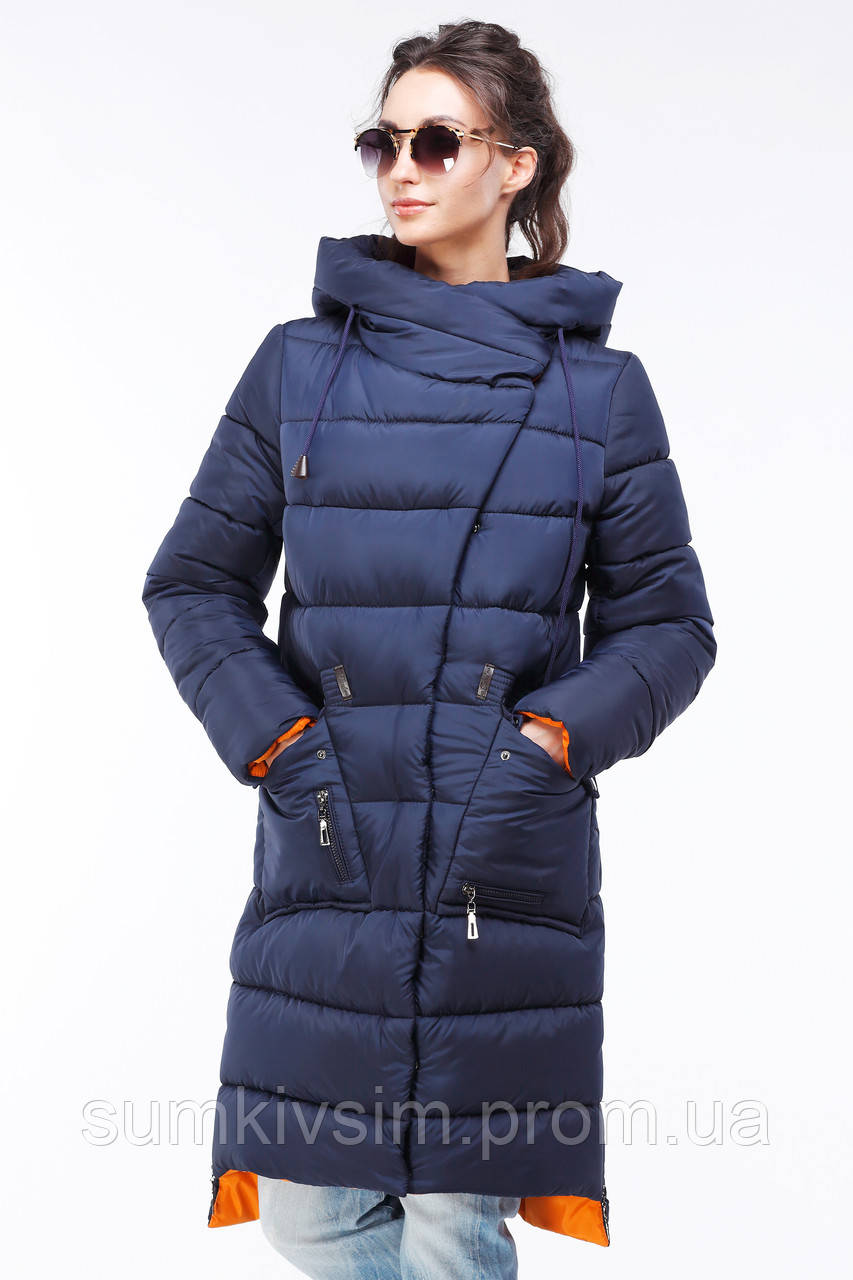 Пальто Рива - Т.синий №91