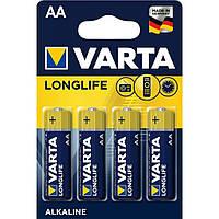 Батарейка VARTA AA LONGLIFE LR6 4 шт. (04106101414)