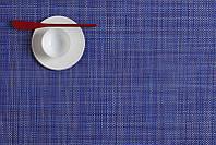 Салфетка для сервировки CHILEWICH MINIBASKETWEAVE 36*48 см (0025-MINIBASKETWEAVE-BLBR)