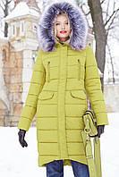 Пальто Кэт - Фисташка №3280