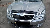 Дефлектор капота Skoda Octavia 2009-2013 (Люкс вариант)
