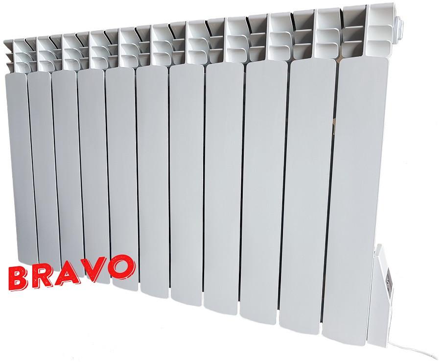 Электрорадиатор BRAVO 11 секций - отопление 22 кв.м