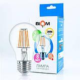 Светодиодная лампа Biom FL-311 A60 8W E27 3000K, фото 6