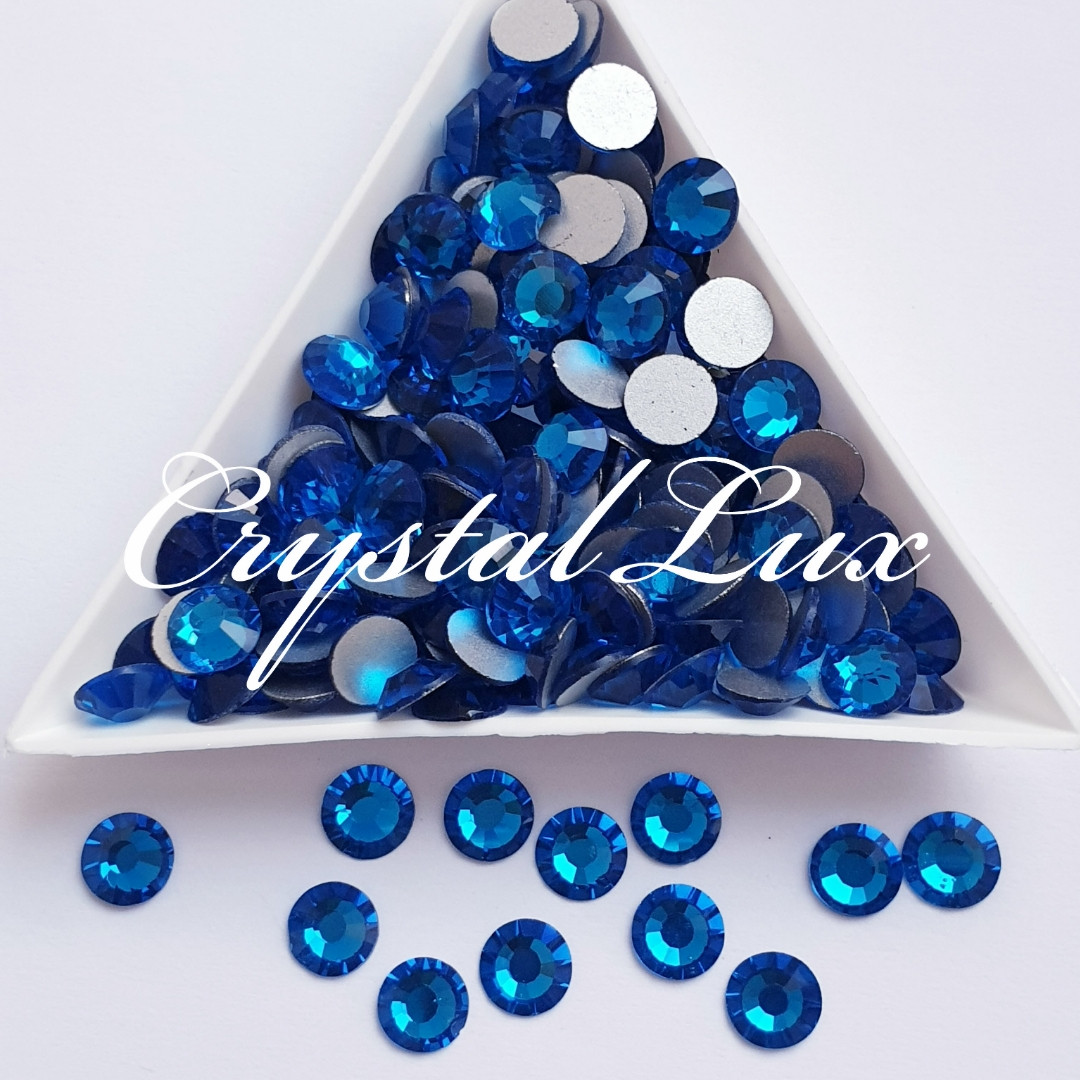 "Стразы ss30 Capri Blue (6.5мм) 280шт ""Crystal Premium"""