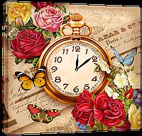 Настенные часы на холсте Декор Карпаты D5 Provance (VICF31249)