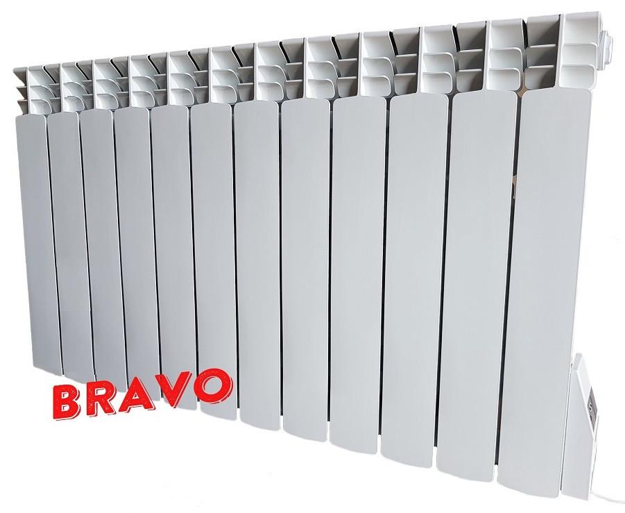 Электрорадиатор BRAVO 12 секций - отопление 24 кв.м
