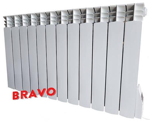Электрорадиатор BRAVO 12 секций - отопление 24 кв.м, фото 2