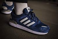 Мужские кроссовки Adidas ZX 700 Blue ( Реплика ) Остался 44 размер