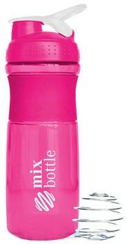 Шейкер Mix Bottle (760 мл) розовый