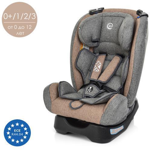 Детское автокресло ME 1017-11 STEP серый