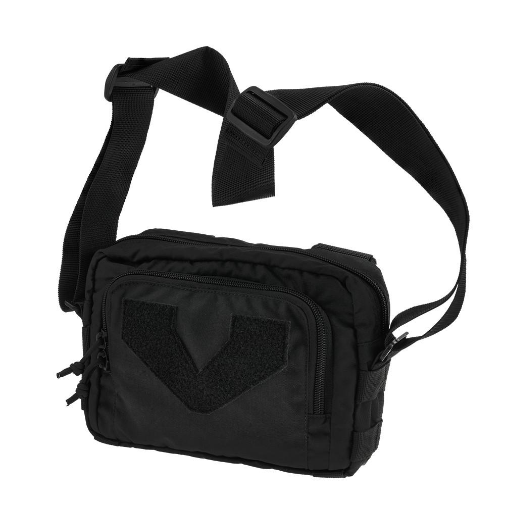 Тактична плечова сумка кобура EDC M Black