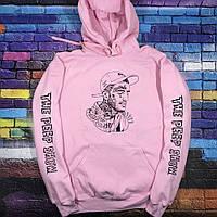 Толстовка розовая LOYS Lil peep Art 7 S