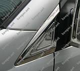 Хром Накладки на зеркала (нерж.) Mercedes Sprinter (2006 - ...), фото 2