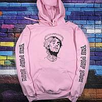 Толстовка розовая LOYS Lil peep Art 16 S