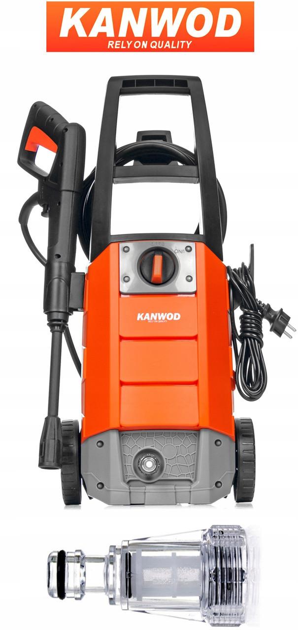 Мойка высокого давления Kanwod 180 Ultra 396 л / ч  TURBO HOME