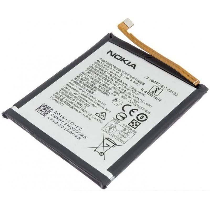 Аккумулятор Nokia 6.1 Plus (TA-1103)/ Nokia X6 2018 HE342, 3060 mAh Оригинал