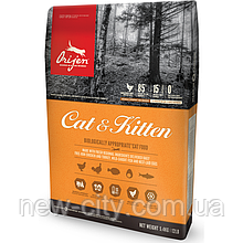 Сухой корм для котов Orijen Cat & Kitten 5.4кг