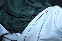 Ткань двухнитка (1,50м). Мокрый эфект.(напыление глистера), цвет бутылка, фото 1