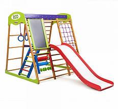 Детский спортивный комплекс для квартиры Карамелька Plus 3  SportBaby, фото 2