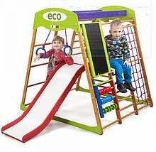 Детский спортивный комплекс для квартиры Карамелька Plus 3  SportBaby, фото 3