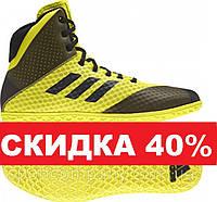 Обувь для борьбы Mat Wizard 4 - черный / золотой., фото 1