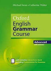 Oxford English Grammar Course New Edition Advanced with answers