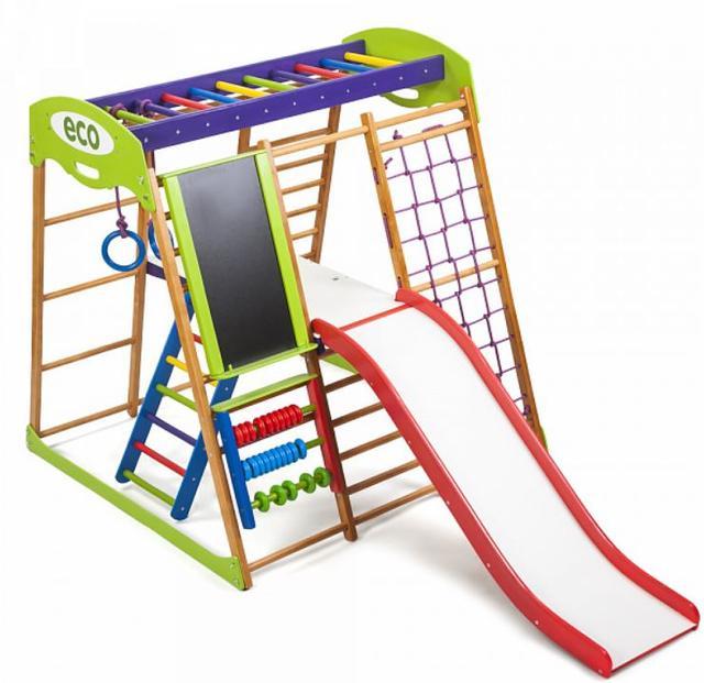 Детский спортивный комплекс для квартиры Карамелька Plus 3