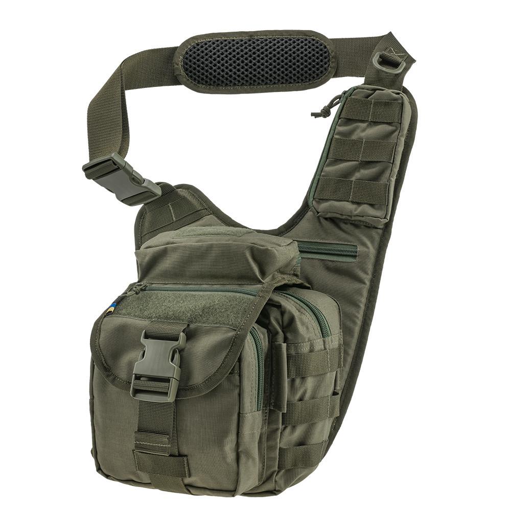Тактична плечова сумка EDC L Ranger Green