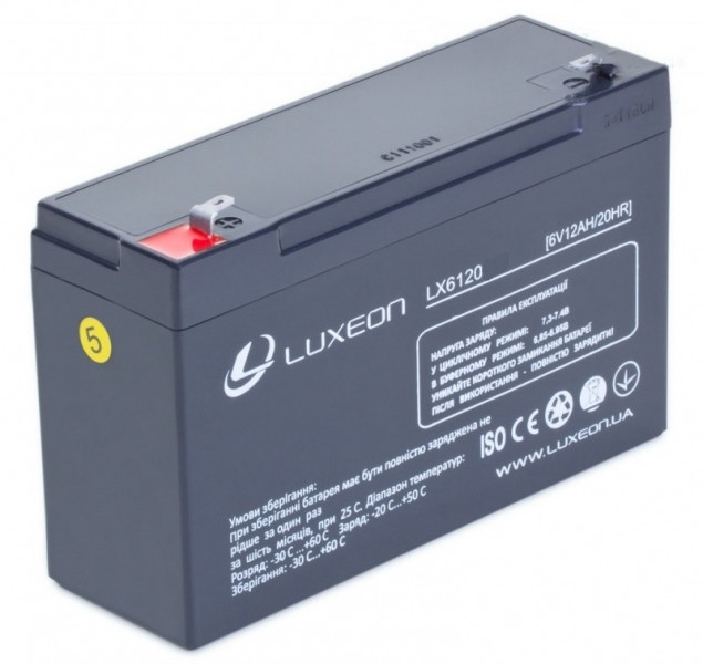 Аккумуляторная батарея LUXEON LX 6120