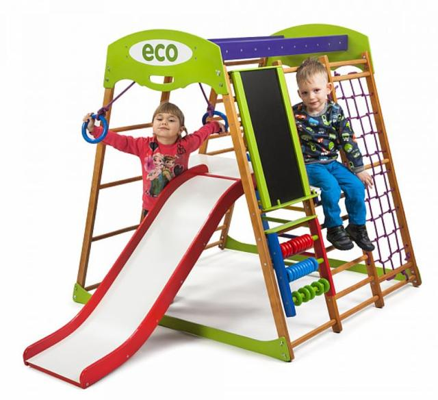 Детский спортивный комплекс для квартиры Карамелька Plus 3 (2)