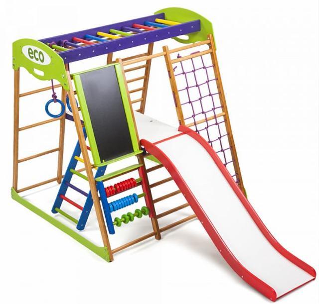 Детский спортивный комплекс для квартиры Карамелька Plus 3 (5)