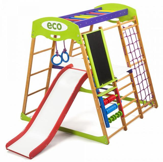 Детский спортивный комплекс для квартиры Карамелька Plus 3 (6)