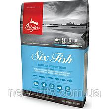 Сухой корм для котов Orijen Six Fish Cat 5.4 кг