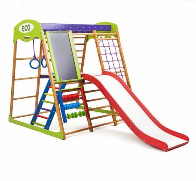 Детский спортивный комплекс для квартиры Карамелька Plus 3 (7)