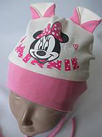 Трикотажные шапочки для мальчиков и девочек., фото 1