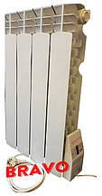 Электрорадиатор BRAVO 4 секции - отопление 8 кв.м