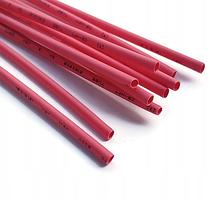 Термоусадочные трубки W-1-H 100шт 1м (2.5мм-1,25мм) термоусадка, красный